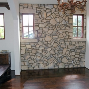 Cultured-stone-wall