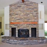 Thin-stone-veneer-fireplace